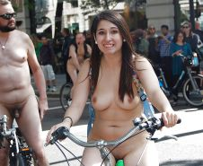 Wonders of the World Naked Bike Ride #38689196