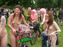 Wonders of the World Naked Bike Ride #38689883