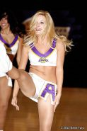 Cheerleaders - pantyhose and camel toes (non-nude)