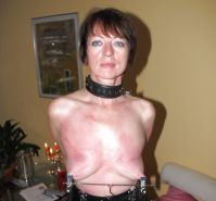 Pain pleasure sexslaves bdsm tied up taped up whipped 2 #35135739