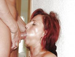 More mature wives and moms posing nude and being used #28519532