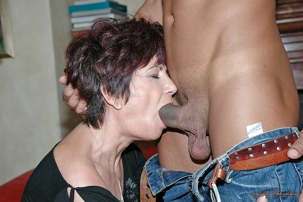 Grannies mature milf blowjob handjob sucking 3 #33840538