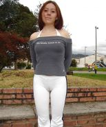 Upskirt Cameltoes #rec Amateur showing pussy PublicNudity 17 #29643669