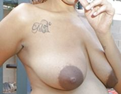Big black areolas part 30
