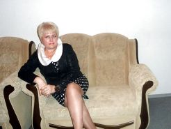 Russian mature woman with sexy legs!