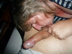 Blowjob and happy ending