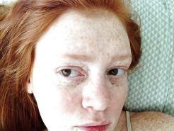 Redhead with freckles.... Or cum targets