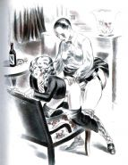 Erotic Vintage Drawings #32962683
