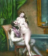Erotic Vintage Drawings #32962686