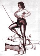 Erotic Vintage Drawings #32962710