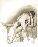 Erotic Vintage Drawings #32962719
