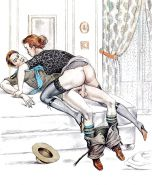 Erotic Vintage Drawings #32962809