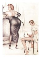 Erotic Vintage Drawings #32962855