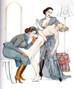 Erotic Vintage Drawings #32962867