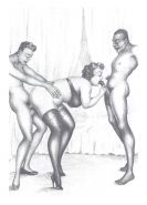 Erotic Vintage Drawings #32962882
