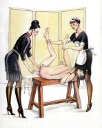 Erotic Vintage Drawings #32962891