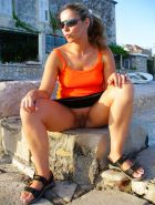 Upskirt, Flashing, candid images from girls and matures #28012811