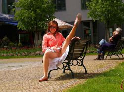 Upskirt, Flashing, candid images from girls and matures #28013050