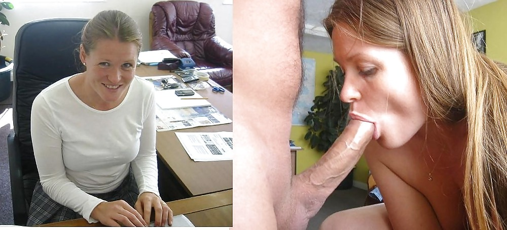 Before and after blowjob and cumshot. Amateur. #38370089