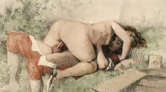 Vintage Erotic Drawings 22