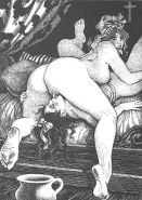 Vintage Erotic Drawings 22 #30272261