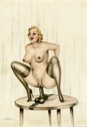 Vintage Erotic Drawings 22 #30272297