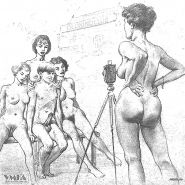 Vintage Erotic Drawings 22 #30272412