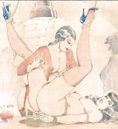 Vintage Erotic Drawings 22 #30272464