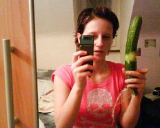 Selfies Banana and Cucumber