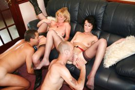 Hot Mature Wife Swap Party