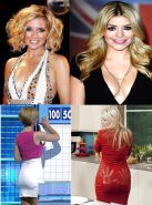RACHEL RILEY VS HOLLY WILLOUGHBY WANK FEST