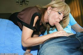 Just Milfs And Babes Sucking Cock !