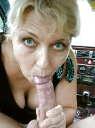 Amateur mature and milf  sucking cock ... #25957812