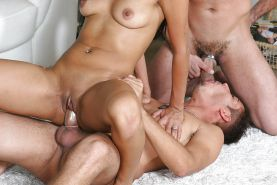Bisexual MMF anal & oral fucking scenes #31999868