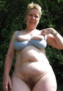 Russian hairy mature grannies! Amateur mixed!  #35477475