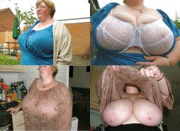 Big Natural Silicone-free Boobs! (Chunky Granny)