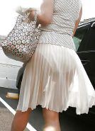 Upskirt, Flashing, candid images from girls and matures #27306559