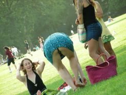 Upskirt, Flashing, candid images from girls and matures #27306603