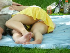 Upskirt, Flashing, candid images from girls and matures #27306754