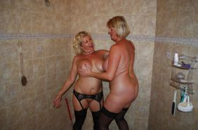 Lesbian Action! (Two Alluring Grannies GILF) #28522970