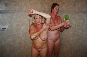 Lesbian Action! (Two Alluring Grannies GILF) #28522985