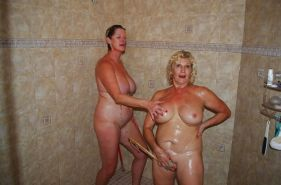 Lesbian Action! (Two Alluring Grannies GILF) #28523178