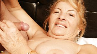 Very old granny fucked by her young boy PART 1