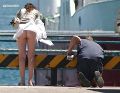 Upskirt, Flashing, candid images from girls and matures #27065724