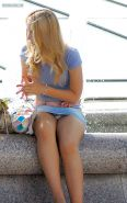 Upskirt, Flashing, candid images from girls and matures #27065922