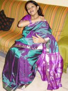 Desi Indian Milf Loves Teasing Me With a Silk Saree