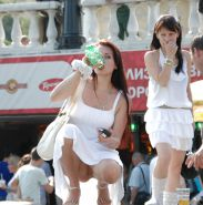 Upskirt Cameltoes #rec Amateur showing pussy PublicNudity 14 #34816462