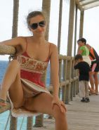 Upskirt Cameltoes #rec Amateur showing pussy PublicNudity 14 #34816777