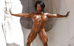 Muscle women with sexy big clits #26168868