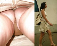 Upskirt Cameltoes #rec Amateur showing pussy PublicNudity 15 #25493838